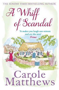 "Cover image of ""A Whiff of Scandal"" by Carole Matthews"