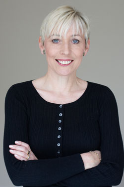 Carole in black