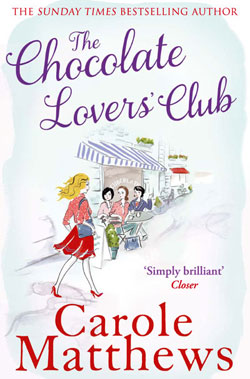 "Cover image of ""The Chocolate Lovers' Club"" by Carole Matthews"