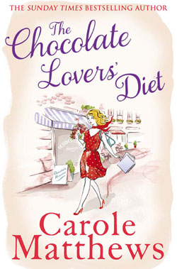 """Cover image of """"The Chocolate Lovers' Diet"""" by Carole Matthews"""