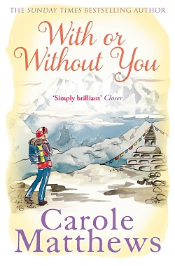"Cover image of ""With or Without You"" by Carole Matthews"